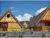 Domki całoroczne z kominkiem w Górach - Nad Jeziorem