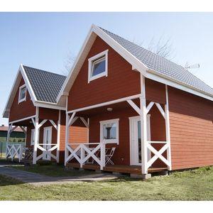 FLAMAND, nowo wybudowane domki skandynawskie, pokoje i apartament w Karwi
