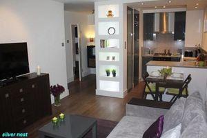 """Elegancki apartament """"Silver nest"""" w centrum Warszawy dla 1-3 osób"""
