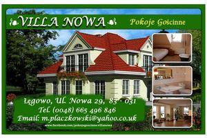 Pokoje Goscinne Villa Nowa Łęgowo
