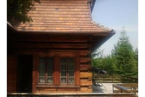 Domek w gorach w miejscowosci Rabka Zdrój